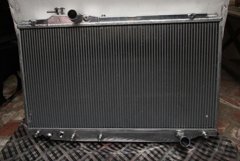 Koyo Radiator Install Into Sc300 5 Speed Clublexus